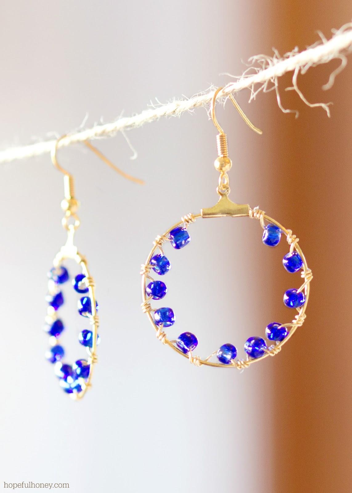 DIY Salacia Hoop Earrings 6
