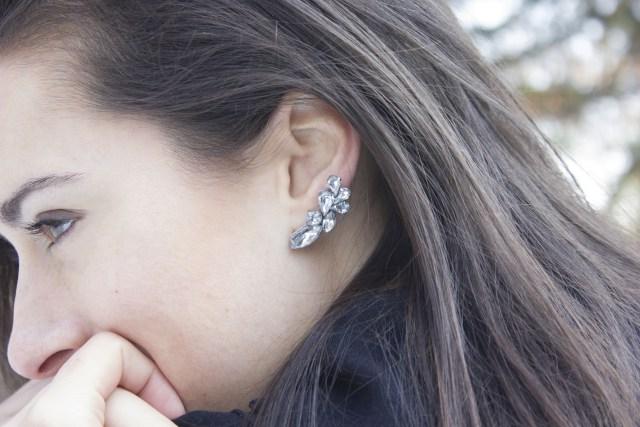 DIY earring cuff