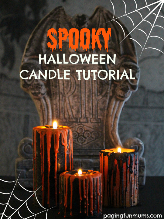 Dripping Candles DIY