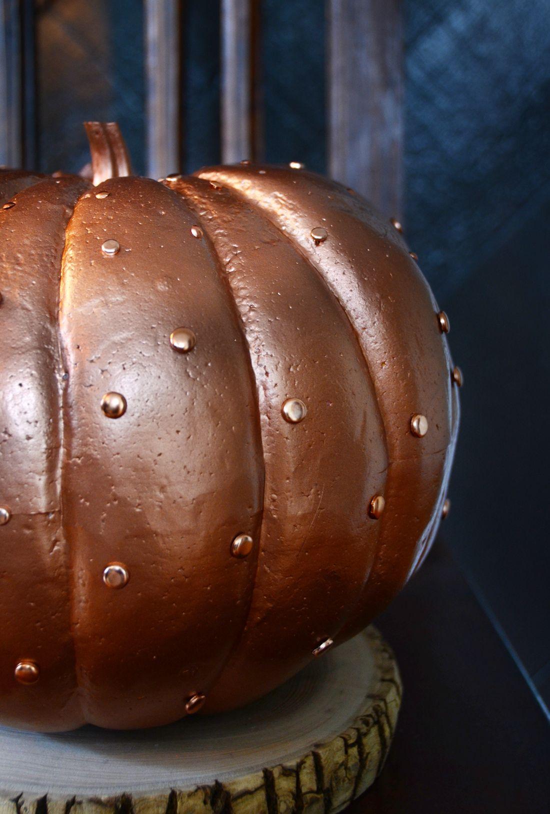 Easy Glamorous Copper Pumpkin