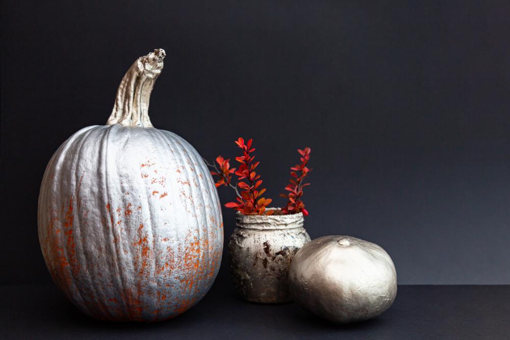 Elegant pumpkin aesthetic