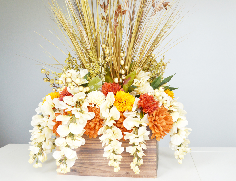 Fall centerpiece 16