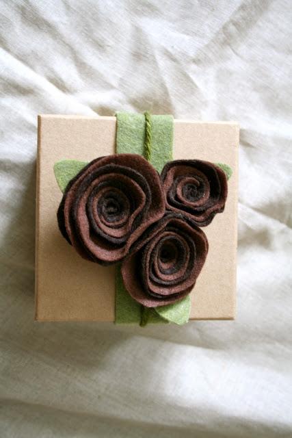 Felt Roses Gifts