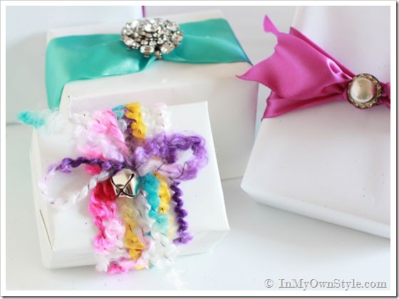 Feminine Gift Wrapping Ideas