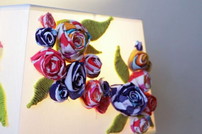 Floral DIY Lampshade