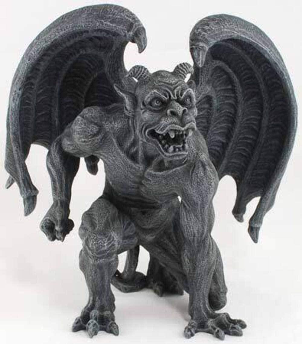 Gargoyle statue sculpture spooky halloween decorations