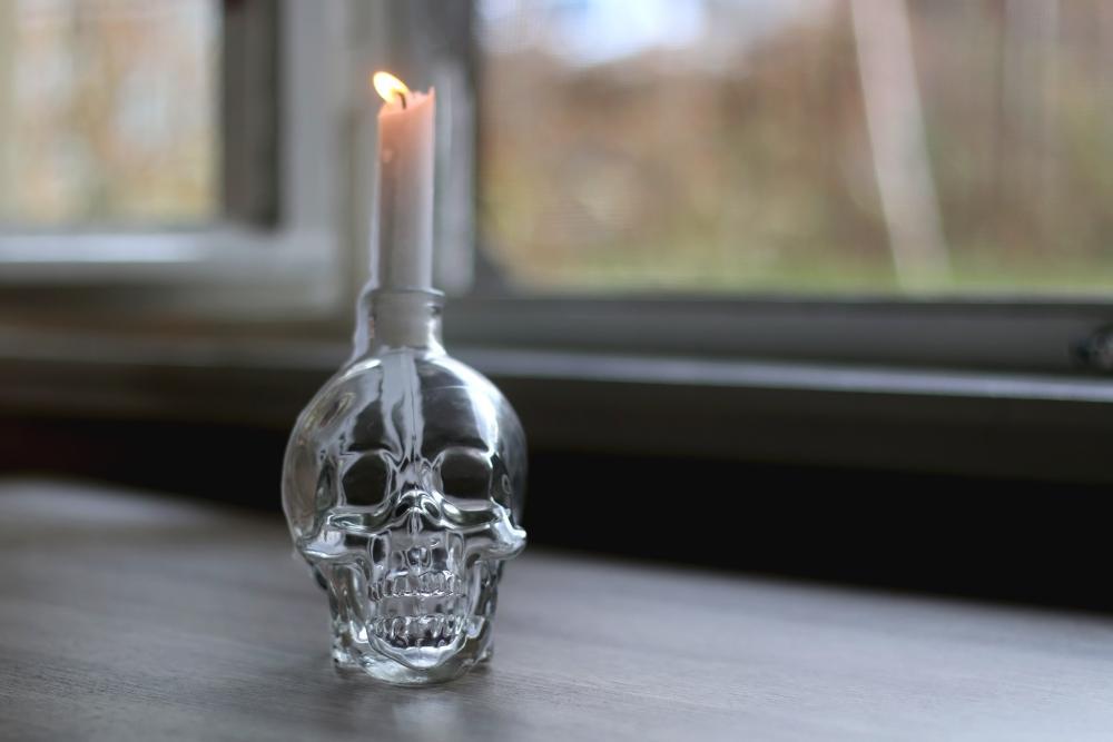 Glass halloween ornaments