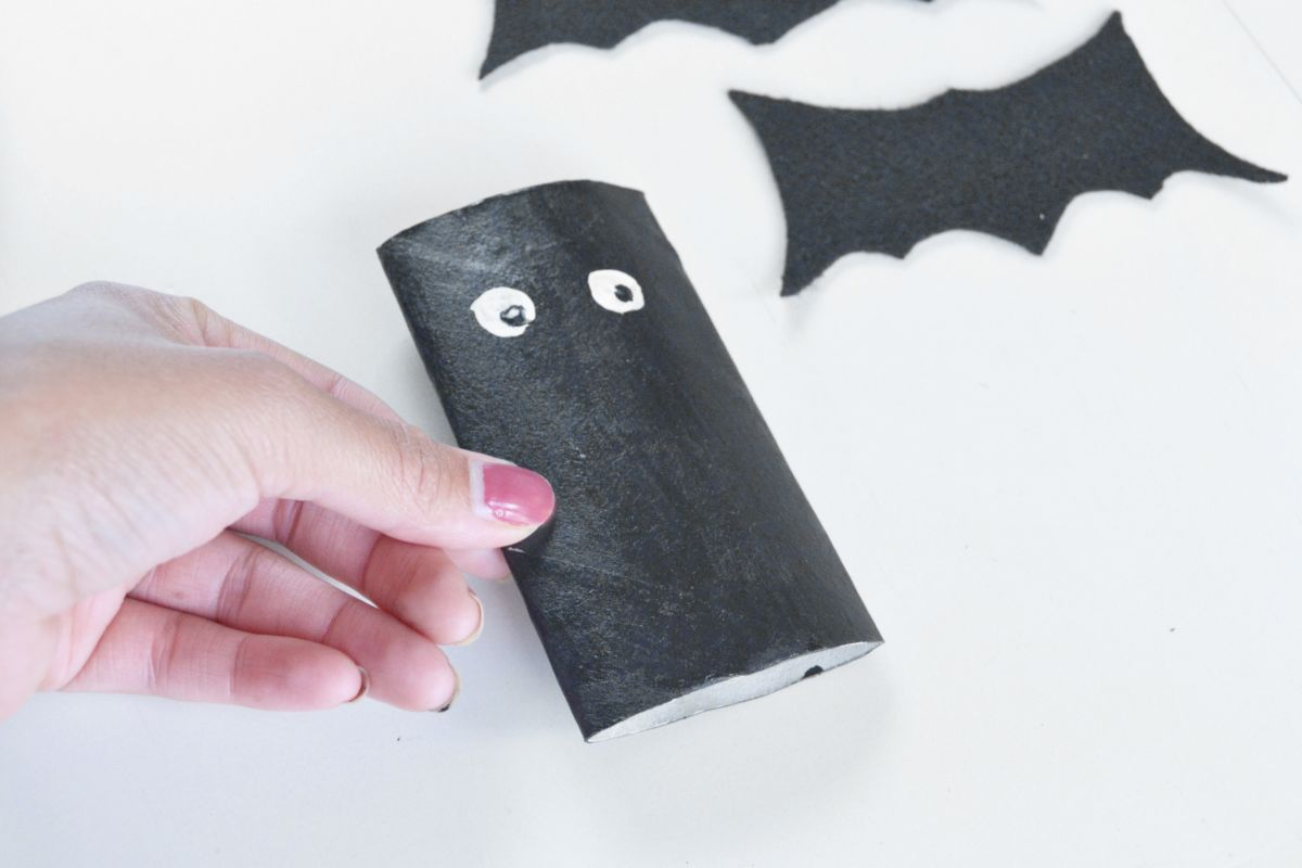 Halloween Bat Candy Pouches Press