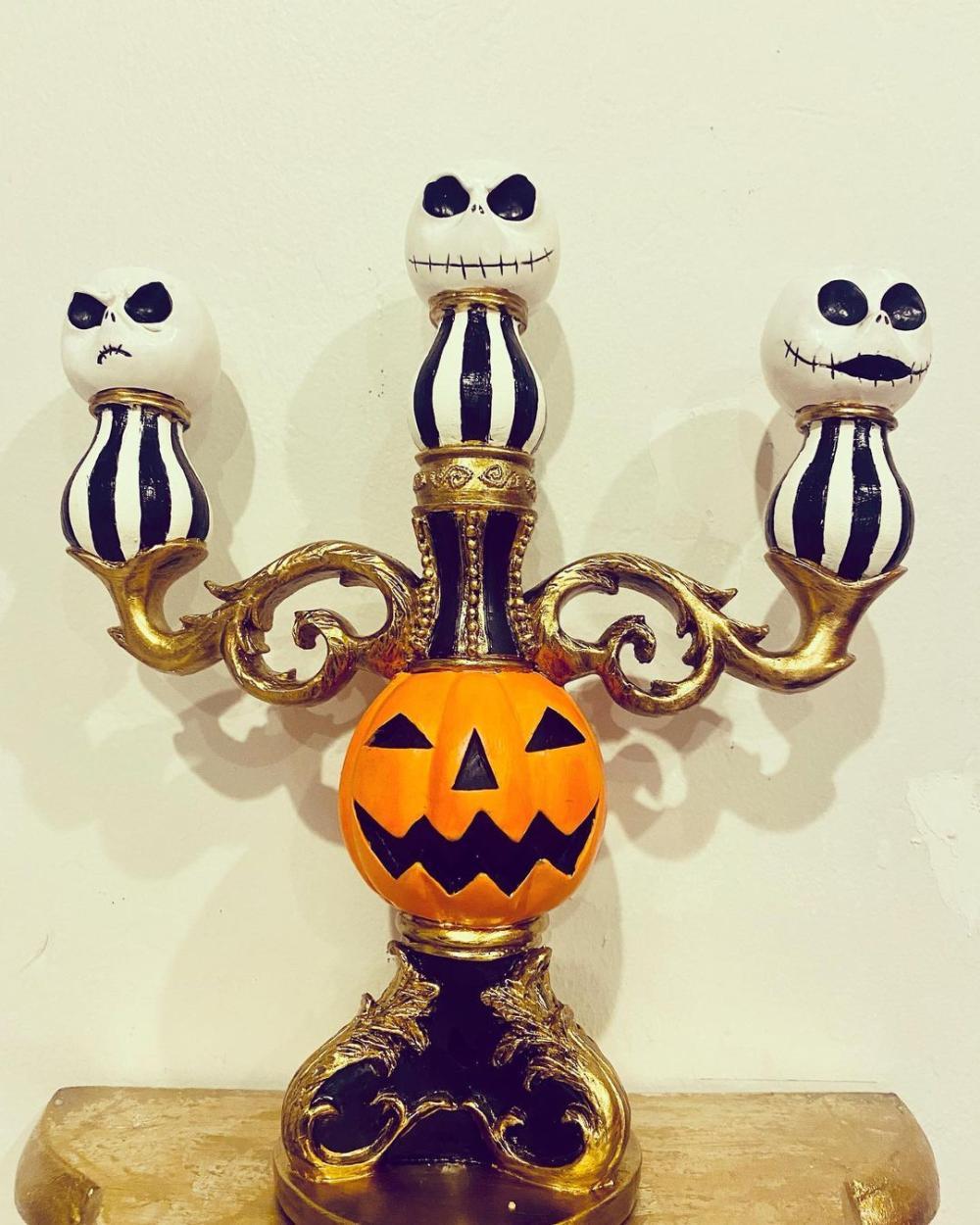 Halloween candelabra