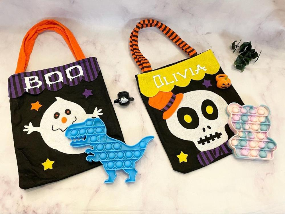 Halloween candy bags customized bags