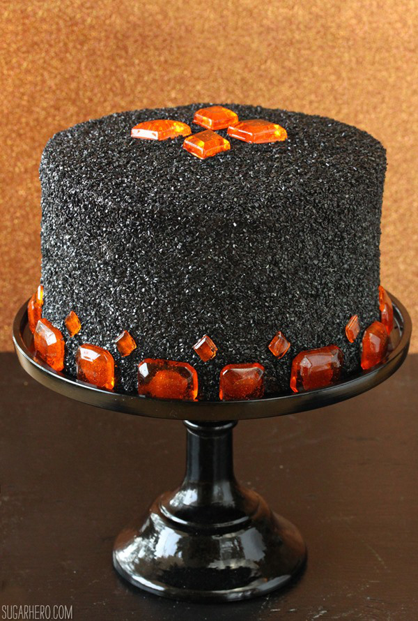 Halloween Devil's Food Cake