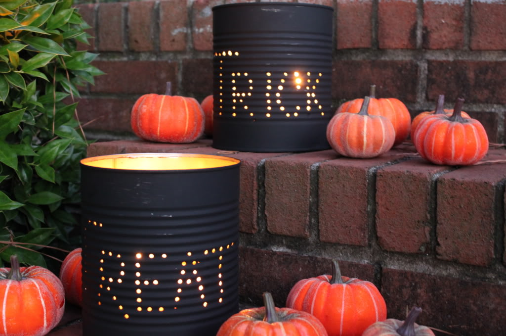 Halloween Luminaries DIY