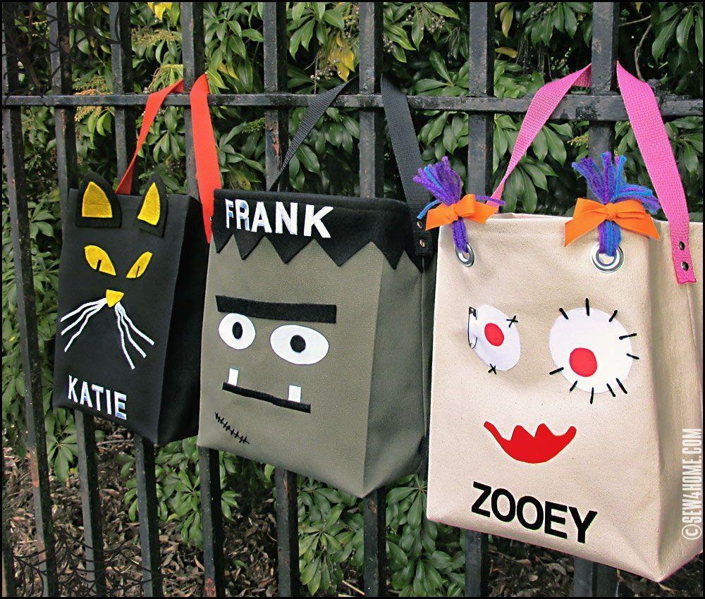 Halloween treat bag ideas ghoulish bags