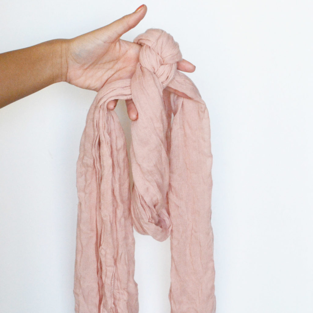 How to braided scarf spark and chemistry 5