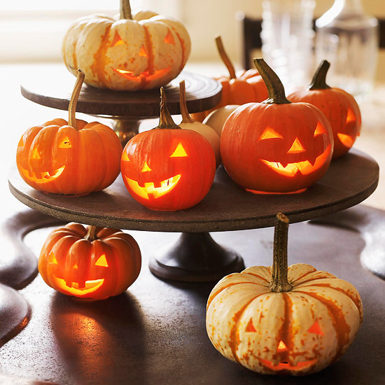 Mini Pumpkin DIY Centerpiece