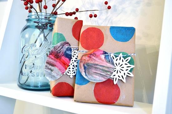 Mod Podge Creative Gift Wrap