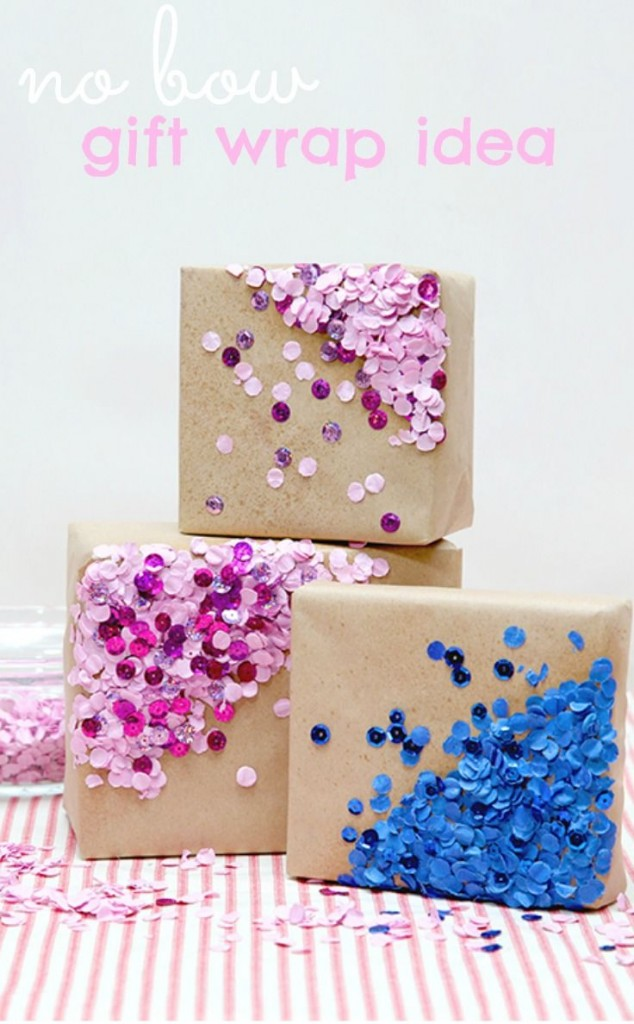 No Bow Gift WRapping