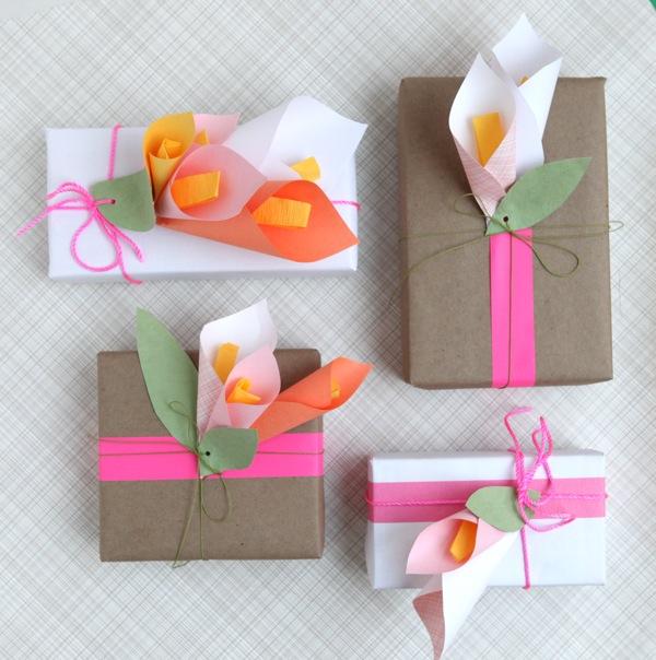 Paper Calla Lillies DIY