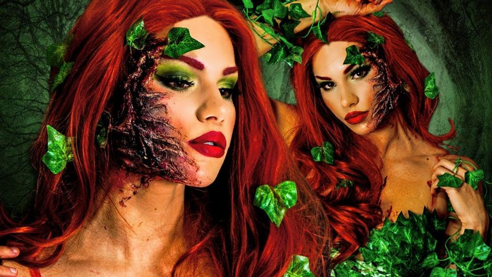 Poison ivy sexy halloween costumes