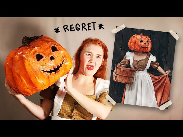 Pumpkin lady halloween costumes