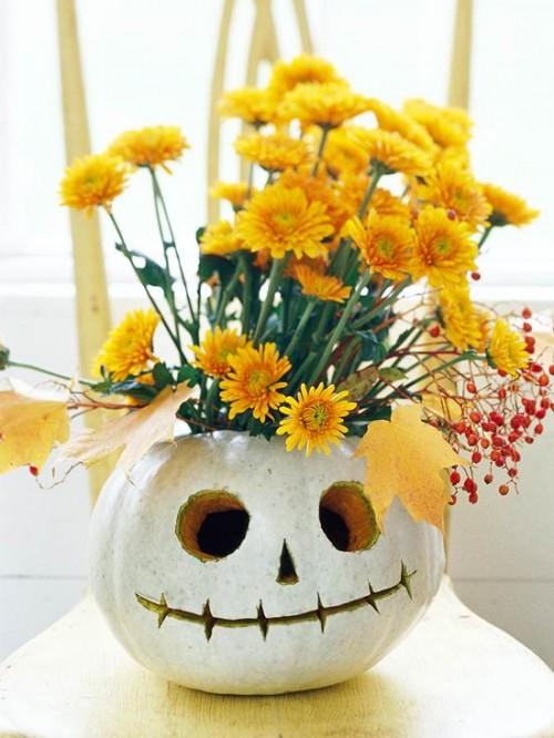 Pumpkin Vase DIY