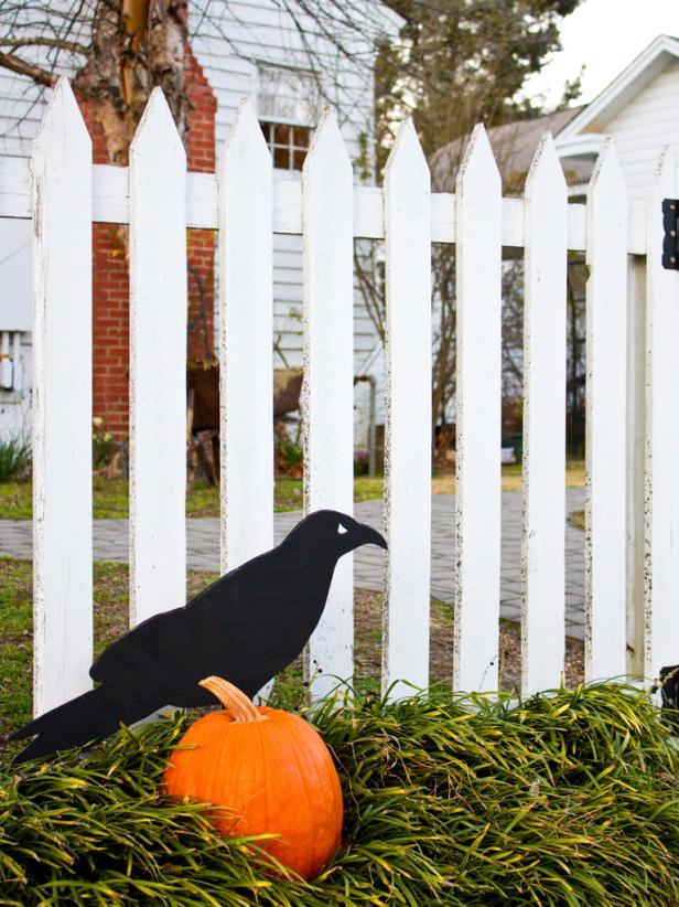 Raven Halloween DIY