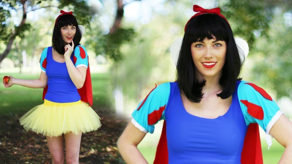 Snow white adult halloween costumes