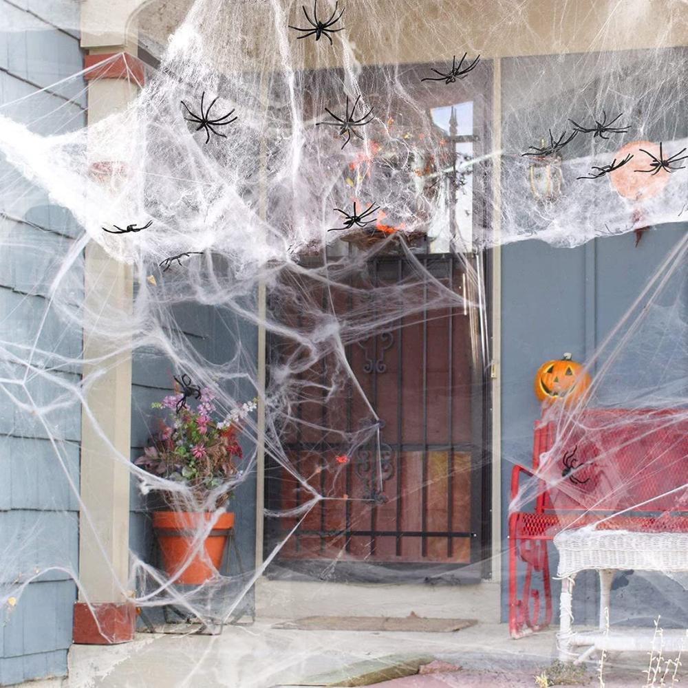 Spiderweb halloween decoration ideas