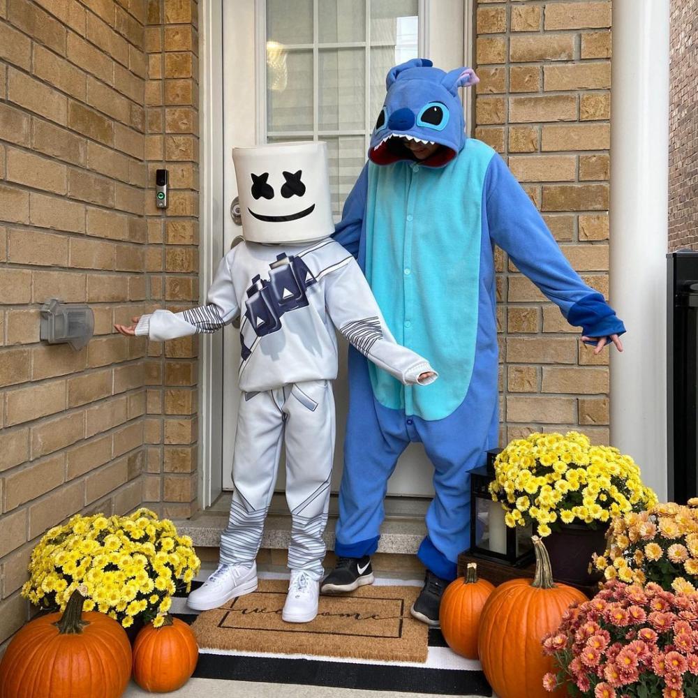 Stitch blue halloween costumes