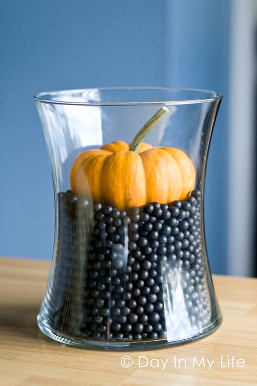 Sunken Pumpkin DIY