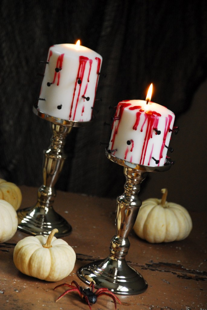 Tortured Candles DIY