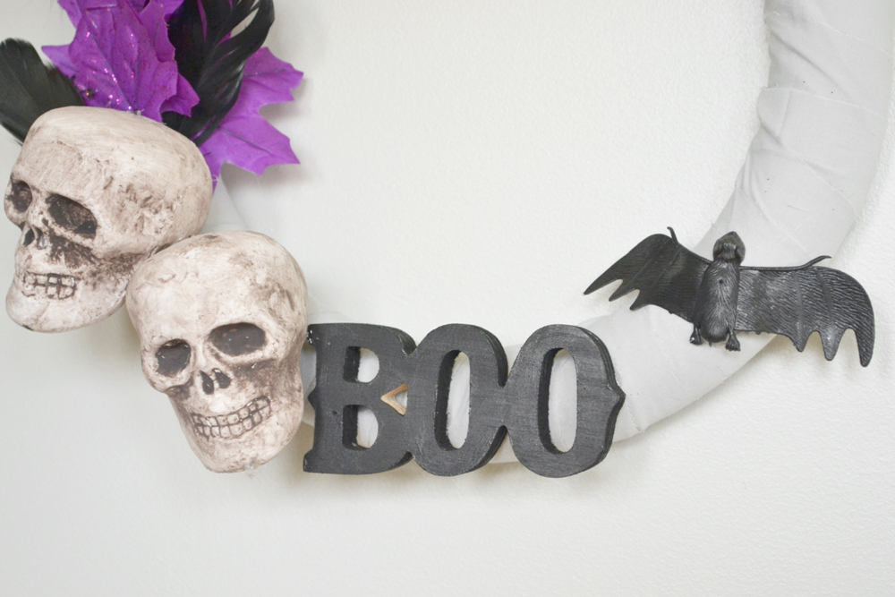 Whimsical Halloween Wreath 11
