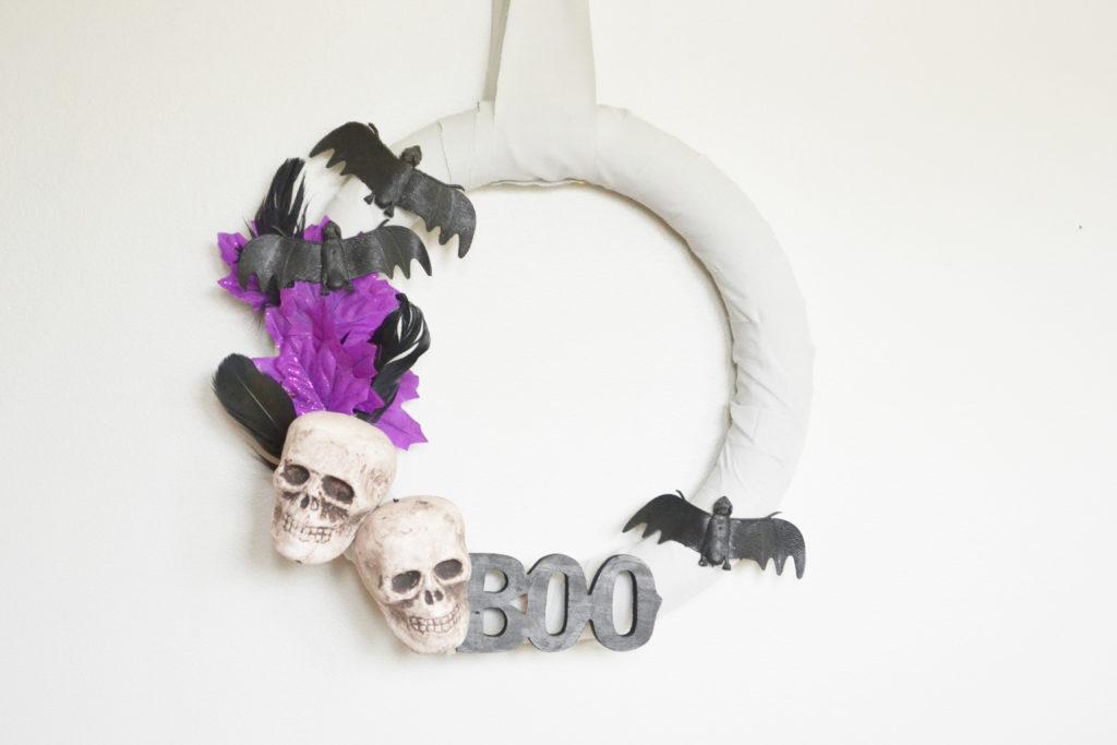 Whimsical Halloween Wreath 12