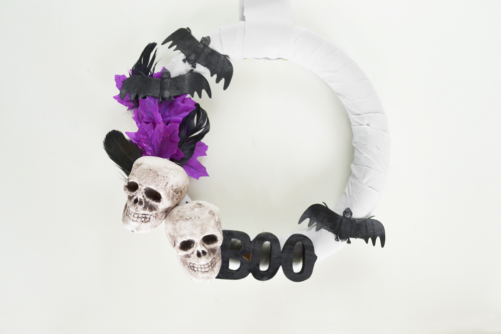 Whimsical Halloween Wreath 14