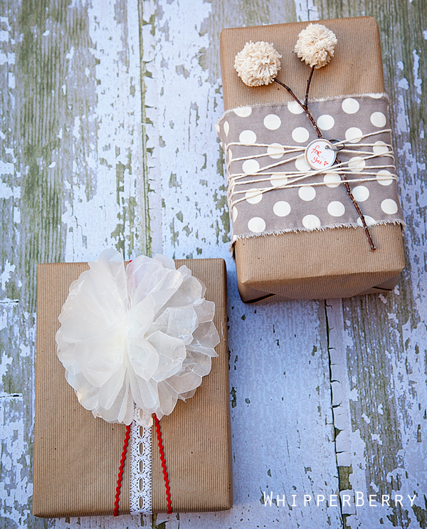 Whipperberry Birthday WRapping Ideas
