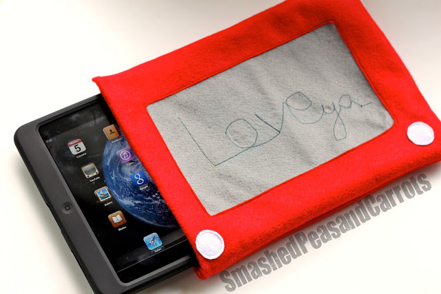 etch a sketch ipad cozy