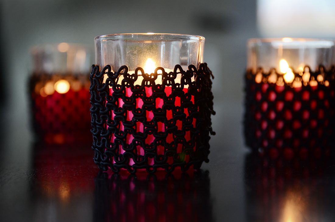 lace votives diy 9