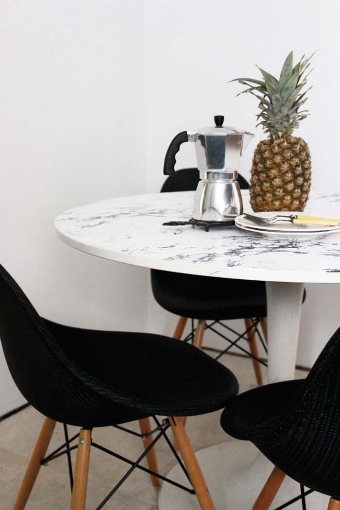 25 genius ikea table hacks marble dining table ikea hack workwithnaturefo