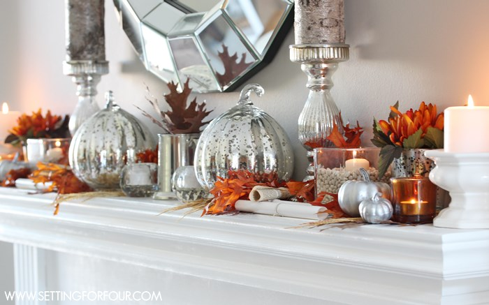 Mercury Glass Has Gotten Very Popular In Home Decor Lately, So It Only  Makes Sense That Mercury Glass Halloween Decorations Would Be Popping Up  Too. The ...