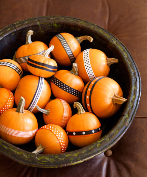 washi Tape pumpkins