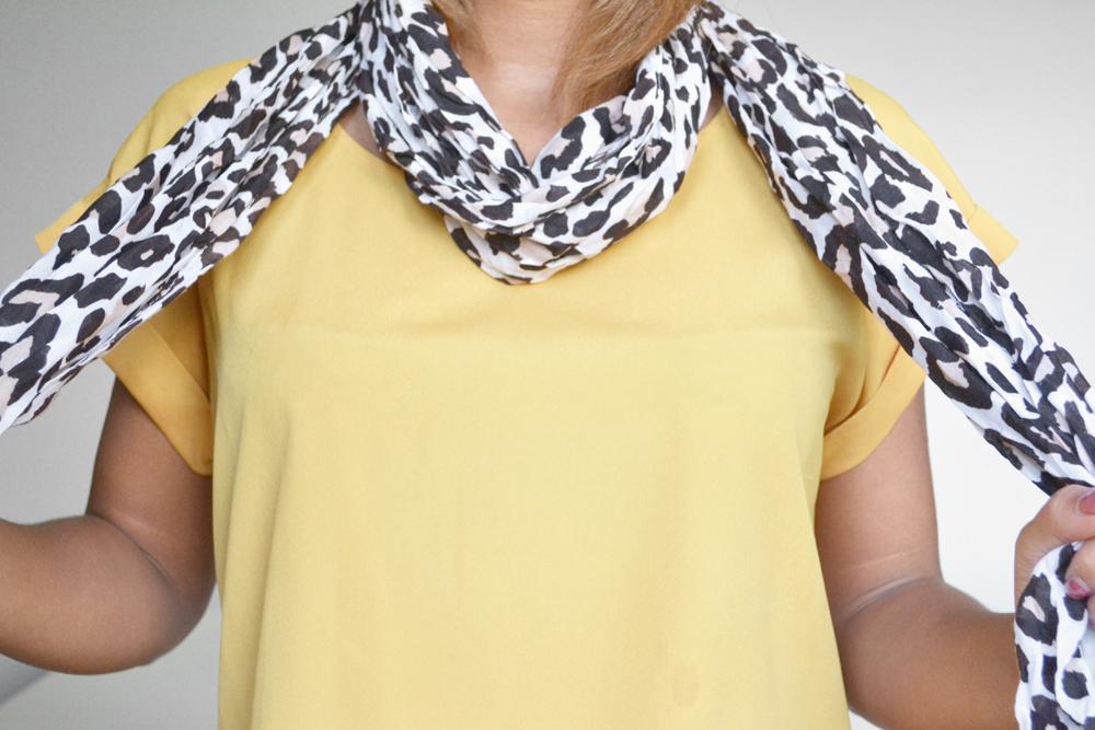 ways to tie a scarf 2