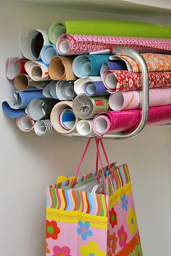11-wrapping-paper-storage