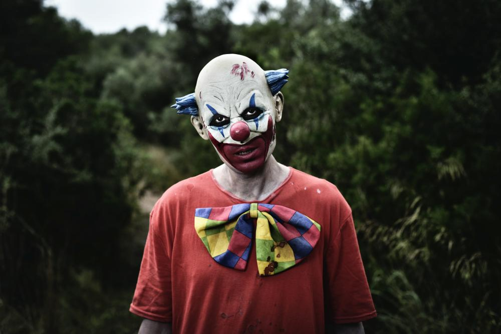 Another evil clown scary makeup looks