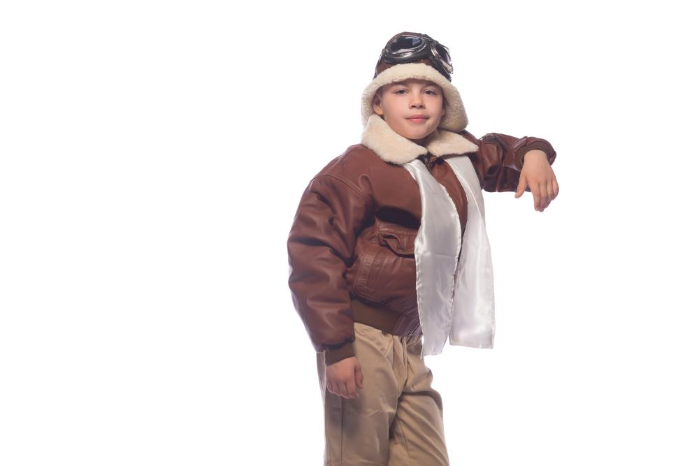 At home halloween costumes for boys aviator