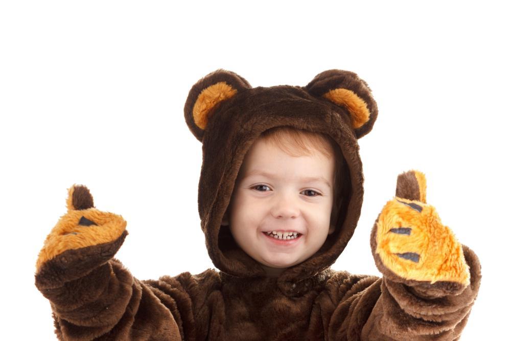Bear halloween costume for boys