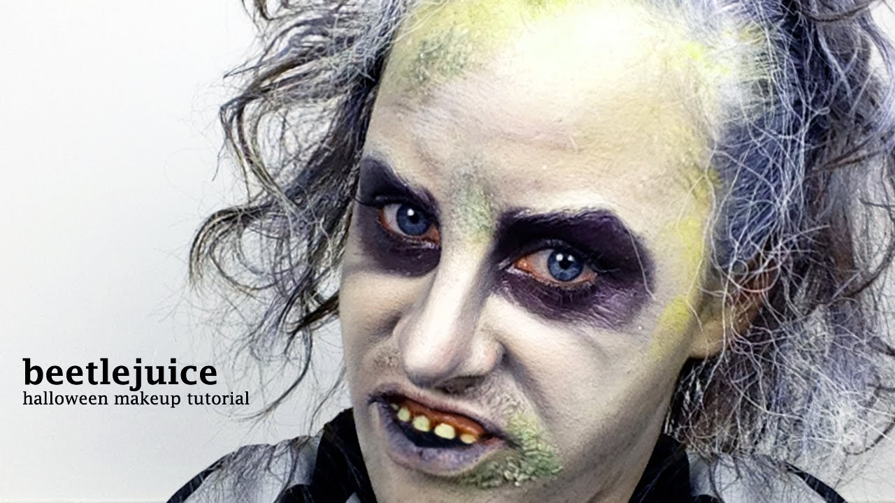 Beetlejuice Halloween Makeup