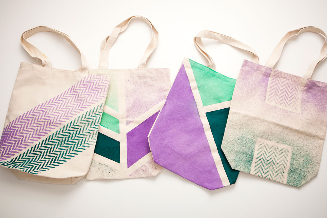 Brit Co Diy Dye Tote Bags