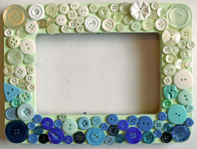 Button Frame DIY