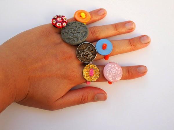 Button Ring DIYs