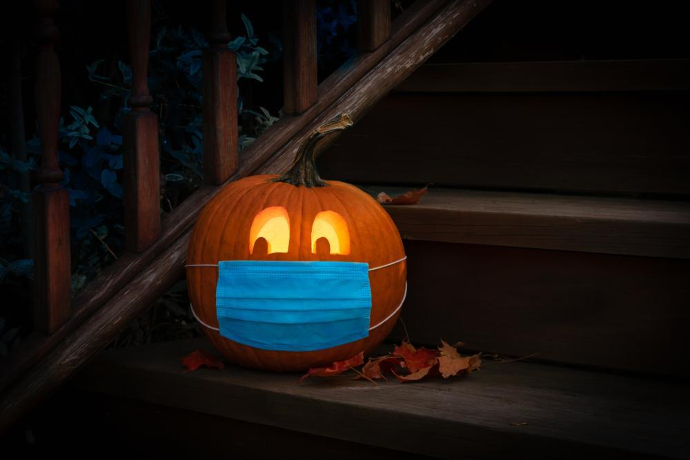 Covid 19 pumpkin thanksgiving aesthetic